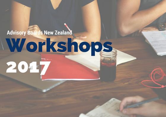 Advisory Boards Workshops