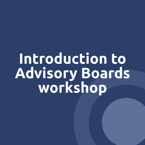 Intro to Advisory Boards